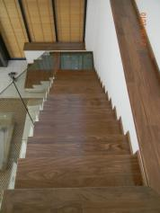 Afromorsia stairs