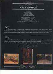 Casa Bambus s-a bucurat de aparitia in catalogul Luxury Show 2007, urmare participarii la expozitia cu acelasi nume....