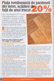 Piata romaneasca de pardoseli din lemn, scadere cu 20% fata de anul trecut...