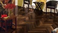 Engineered wood flooring  Herringbone African