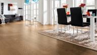 Engineered wood flooring  Oak Black Brown