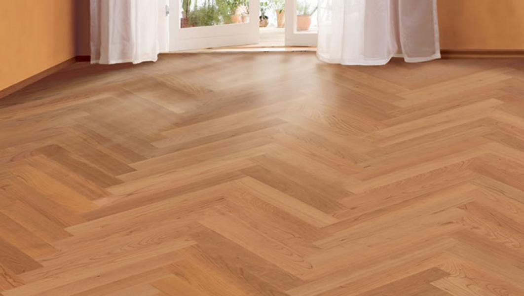 engineered wood flooring american cherry herringbone casa bambus. Black Bedroom Furniture Sets. Home Design Ideas